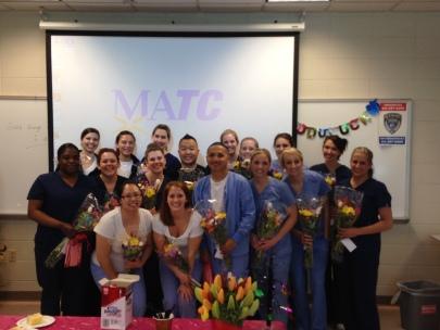 Graduating Hygienists at MATC in Milwaukee