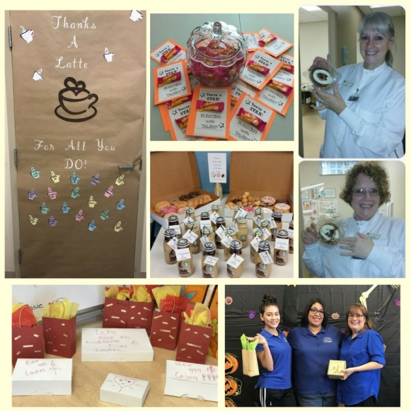 Staff Appreciation collage